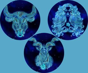 Les caractéristiques des trois signes de Terre, Taureau, Vierge et Capricorne